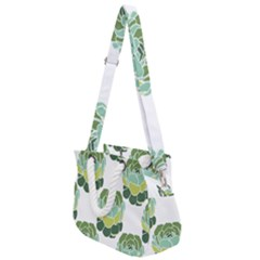 Cactus Pattern Rope Handles Shoulder Strap Bag by HermanTelo