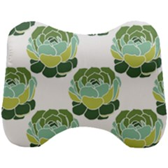 Cactus Pattern Head Support Cushion