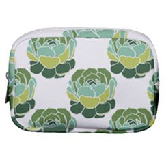 Cactus Pattern Make Up Pouch (small) by HermanTelo
