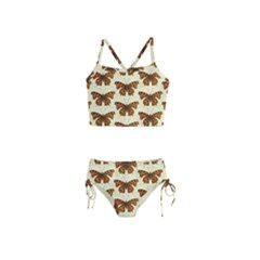 Butterflies Insects Pattern Girls  Tankini Swimsuit