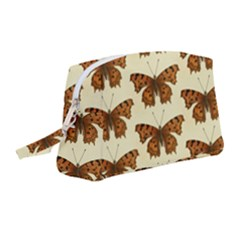 Butterflies Insects Pattern Wristlet Pouch Bag (medium)