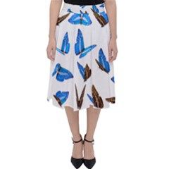 Butterfly Unique Background Classic Midi Skirt