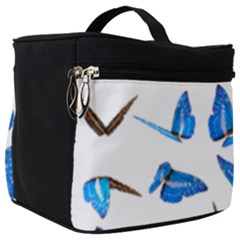 Butterfly Unique Background Make Up Travel Bag (big) by HermanTelo
