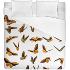 Butterflies Insect Swarm Duvet Cover (king Size)