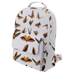 Butterflies Insect Swarm Flap Pocket Backpack (small)