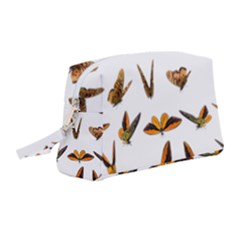 Butterflies Insect Swarm Wristlet Pouch Bag (medium)