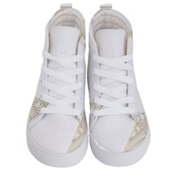 Christmas Tree Star Kids  Hi Top Skate Sneakers