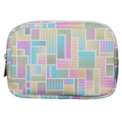 Color Blocks Abstract Background Make Up Pouch (small) by HermanTelo