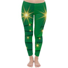 Christmas Tree Green Classic Winter Leggings