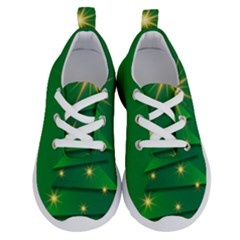 Christmas Tree Green Running Shoes