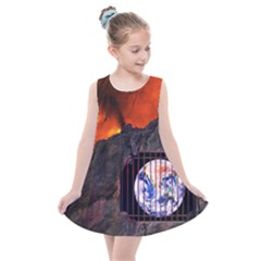 Earth Day Kids  Summer Dress by HermanTelo