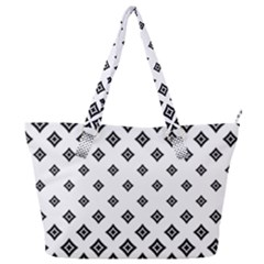 Concentric Plaid Full Print Shoulder Bag by HermanTelo