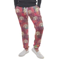 Colorful Background Abstract Men s Jogger Sweatpants