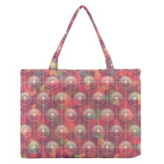 Colorful Background Abstract Zipper Medium Tote Bag by HermanTelo