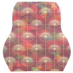 Colorful Background Abstract Car Seat Back Cushion