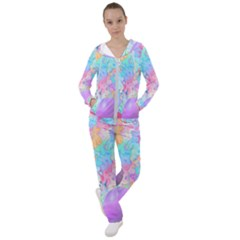 Eggs Happy Easter Rainbow Women s Tracksuit