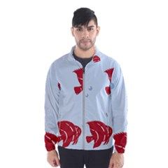 Fish Red Sea Water Swimming Men s Windbreaker