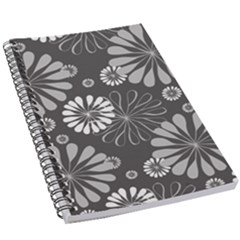 Floral Pattern 5 5  X 8 5  Notebook