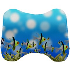 Fish Underwater Sea World Head Support Cushion