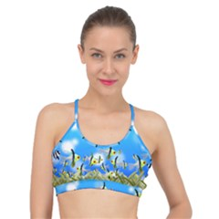 Fish Underwater Sea World Basic Training Sports Bra by HermanTelo