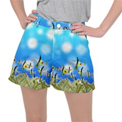 Fish Underwater Sea World Ripstop Shorts