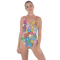 Floral Flowers Abstract Art Bring Sexy Back Swimsuit
