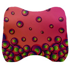 Funny Texture Velour Head Support Cushion