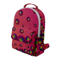 Funny Texture Flap Pocket Backpack (large) by HermanTelo