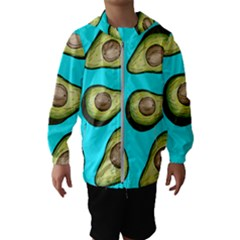 Fruite Avocado Kids  Hooded Windbreaker