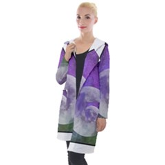 Form Triangle Moon Space Hooded Pocket Cardigan