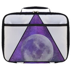 Form Triangle Moon Space Full Print Lunch Bag by HermanTelo
