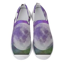 Form Triangle Moon Space Women s Slip On Sneakers