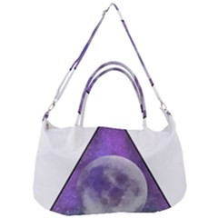 Form Triangle Moon Space Removal Strap Handbag