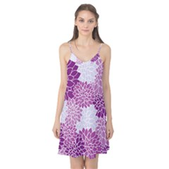 Floral Purple Camis Nightgown