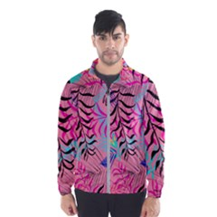 Illustration Reason Leaves Men s Windbreaker