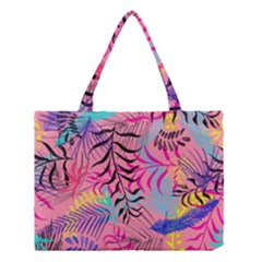 Illustration Reason Leaves Medium Tote Bag