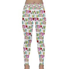 Holidays Happy Easter Classic Yoga Leggings