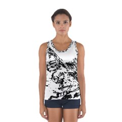 Mountain Ink Sport Tank Top  by HermanTelo