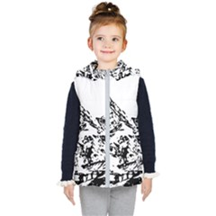 Mountain Ink Kids  Hooded Puffer Vest