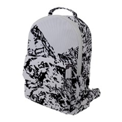 Mountain Ink Flap Pocket Backpack (large) by HermanTelo