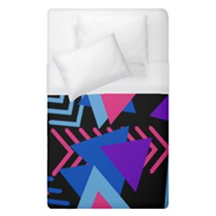 Memphis Pattern Geometric Abstract Duvet Cover (single Size) by HermanTelo