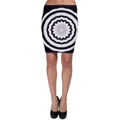 Mandala Bodycon Skirt