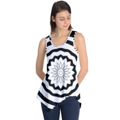 Mandala Sleeveless Tunic by HermanTelo