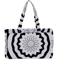 Mandala Canvas Work Bag by HermanTelo