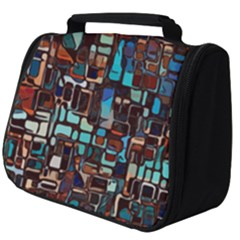 Mosaic Abstract Full Print Travel Pouch (big)