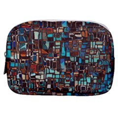 Mosaic Abstract Make Up Pouch (small)