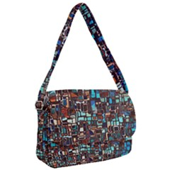 Mosaic Abstract Courier Bag