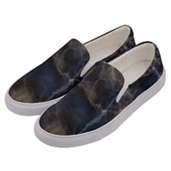 Marble Surface Texture Stone Men s Canvas Slip Ons by HermanTelo