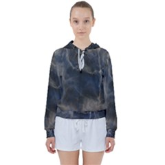 Marble Surface Texture Stone Women s Tie Up Sweat by HermanTelo