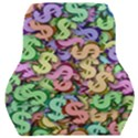 Money Currency Rainbow Car Seat Back Cushion  View1